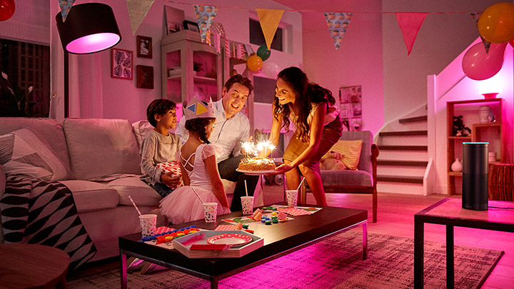 Partymodus mit Amazon Echo und Philips Hue