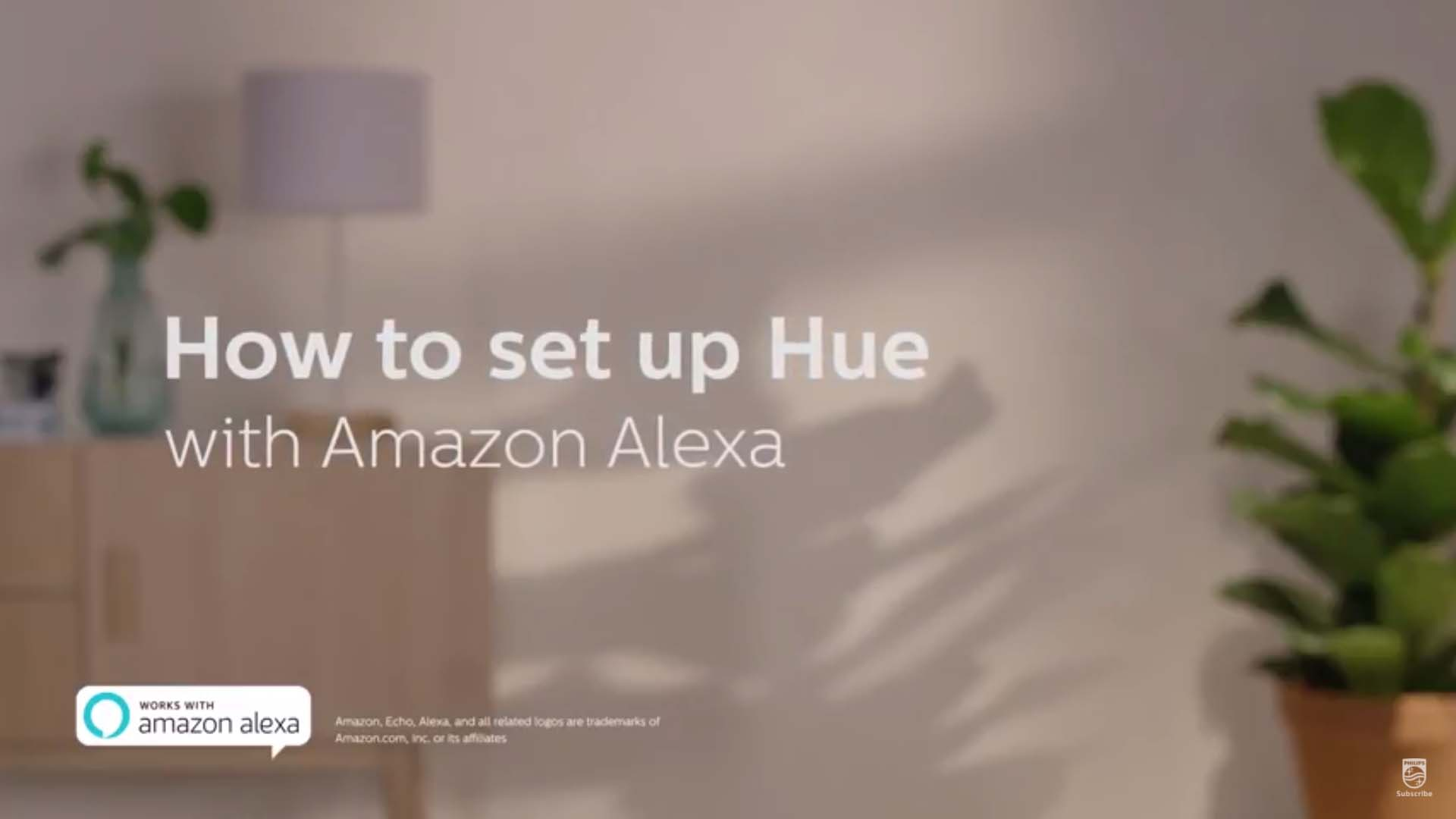 Philips Hue How to set up Hue with Amazon Alexa video