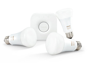 Philips Hue Starterkit three bulbs and a bridge