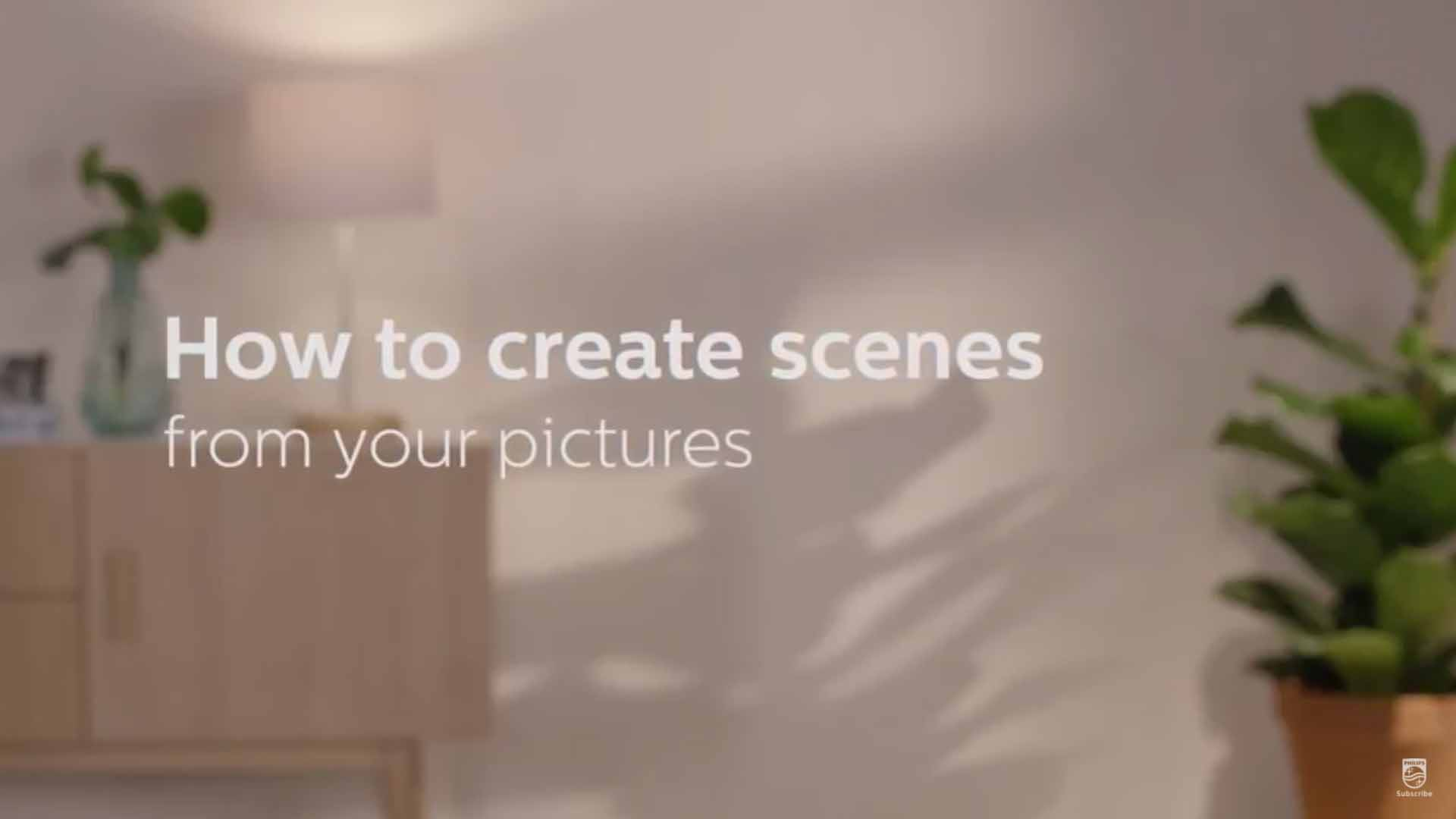 How to create Philips Hue scenes from your pictures