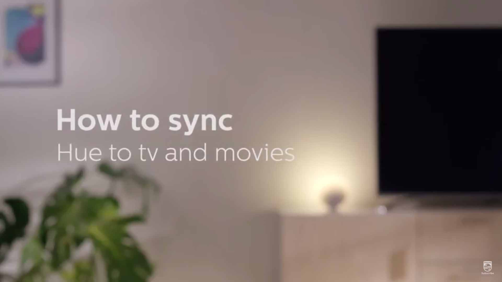 How to sync Philips Hue to TV and Movies