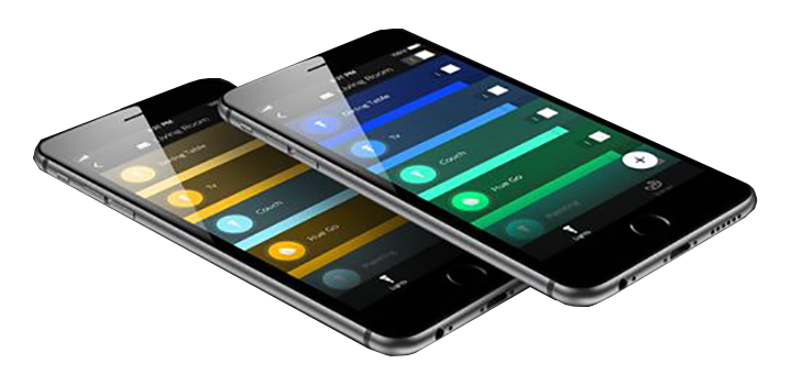 Hue Iphone application - set and dim your lights