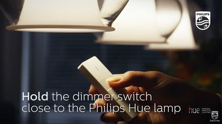 how to pair two dimmer switches - Hue support