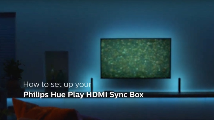 How to set up the Philips Hue Play HDMI Sync Box