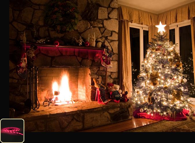 Indoor Christmas Lights.Christmas Lighting Philips Hue