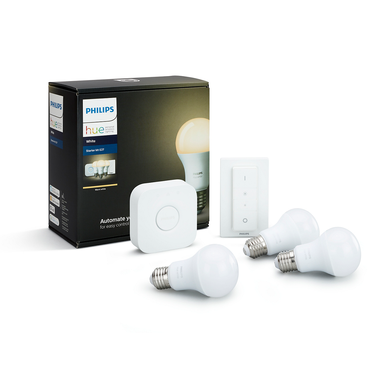 Hue White and color ambiance Starter Kit e26