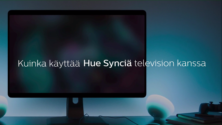 How to use Philips Hue Sync with a TV