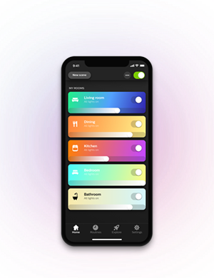 Application Hue