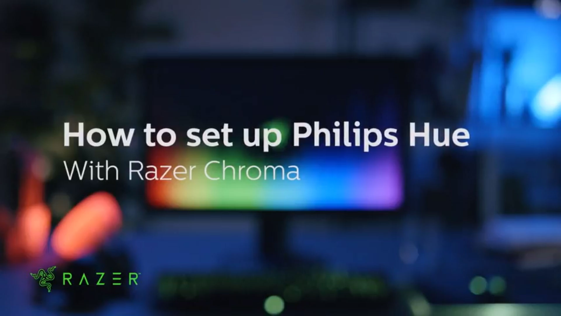 How to set up Philips Hue with Razer Chroma