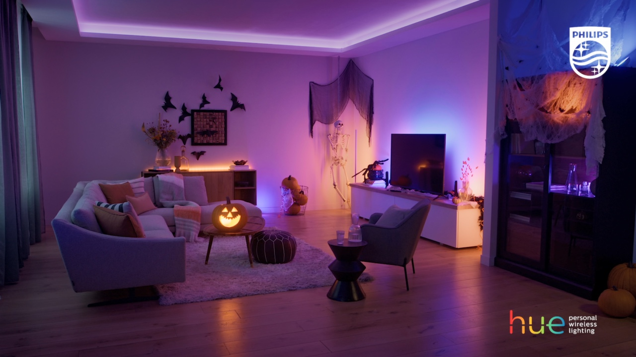 create a haunted house with Philips Hue