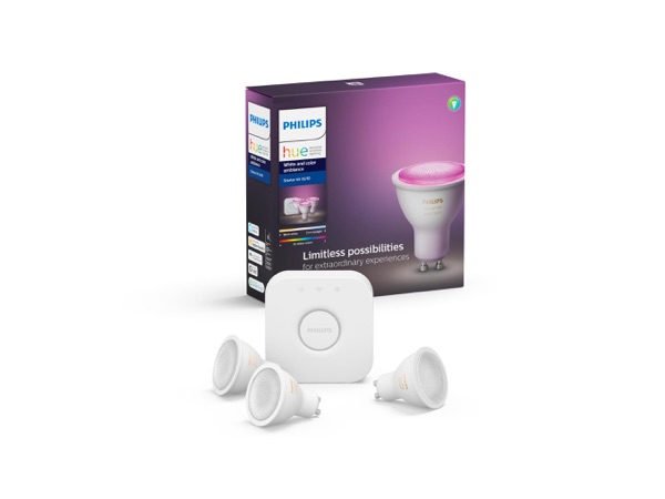 Philips Hue White and Color Ambiance starter kit GU10