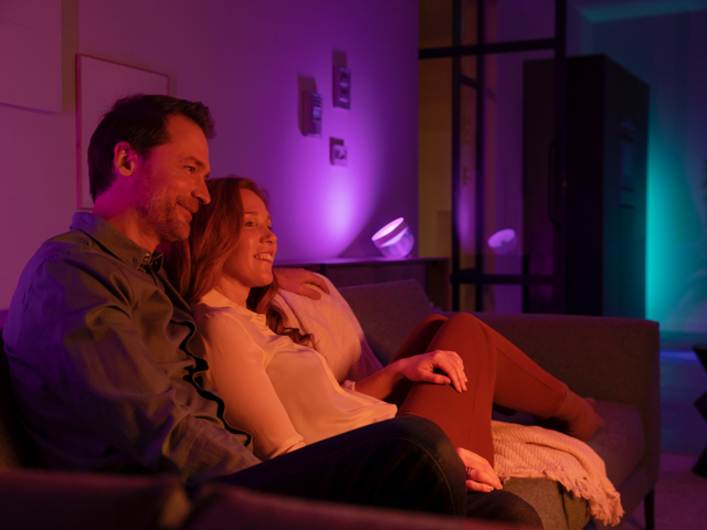 Philips Hue Iris limited edition kamer