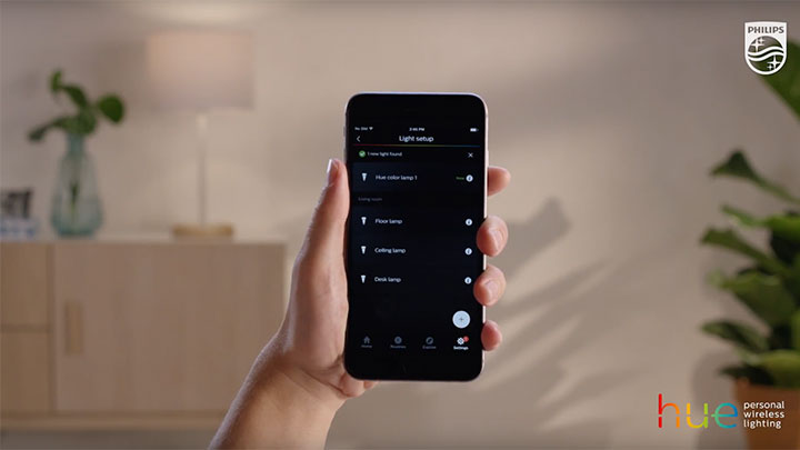 How to add more lights to the Philips Hue app?