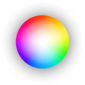 16 million colors of light icon