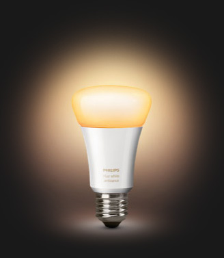 Philips Hue White Ambiance light bulb with all its features