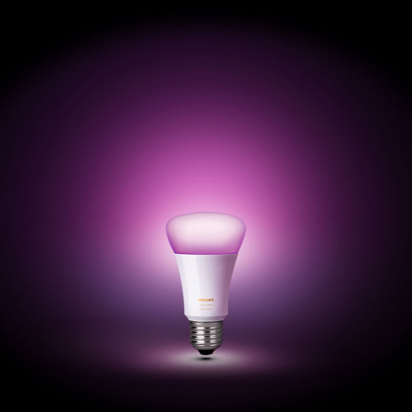 Philips Hue White and Color Ambiance light bulb with all its features