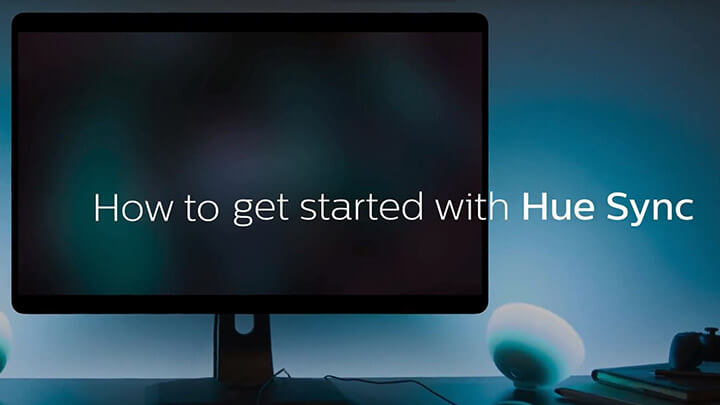 How to setup Philips Hue Sync