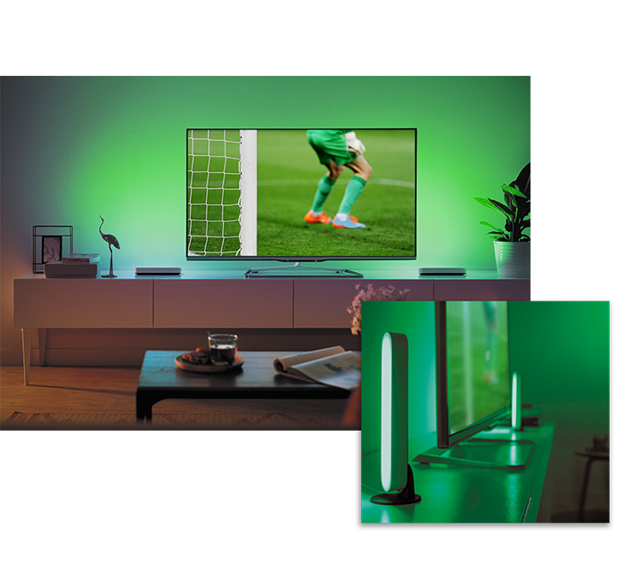 Hue play for TV experience