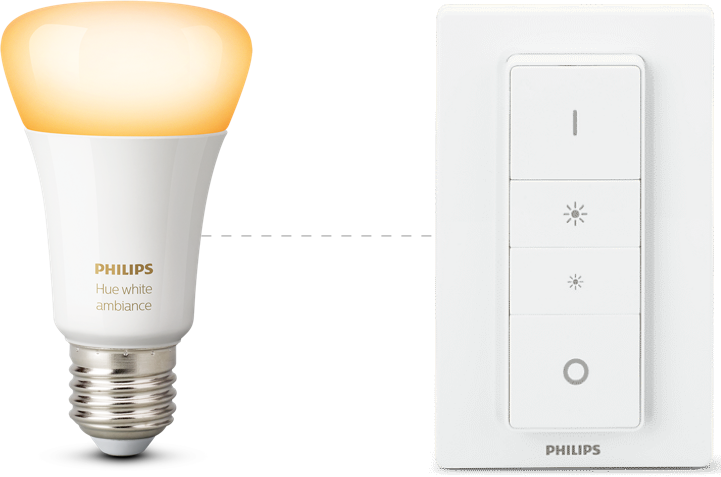Hue dimmer switch – Lights that think for themselves